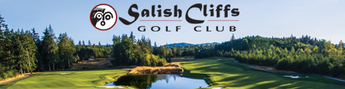 Salish Cliffs Golf Course - Shelton, WA.